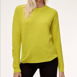 Wilfred free isabelli sweater sz m yellow